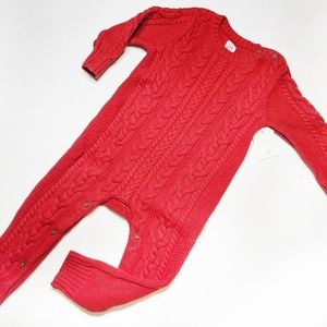 12-18 mo Gap cable knit one piece